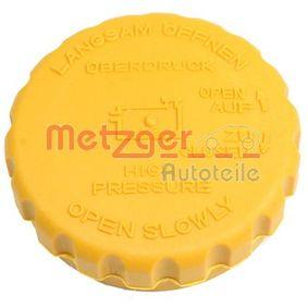 ostke ja asendage Sulgurkate, jahutusvedeliku mahuti METZGER 2140039