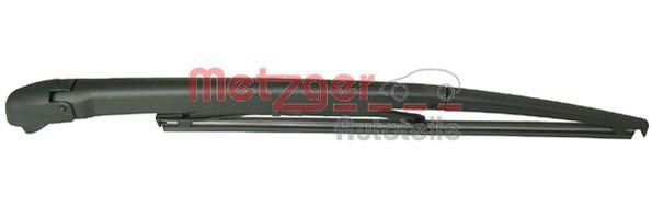2190084 METZGER hinten, mit integriertem Wischblatt, mit Kappe Wischarm, Scheibenreinigung 2190084 günstig kaufen