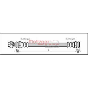 buy and replace Brake Hose METZGER 4114729
