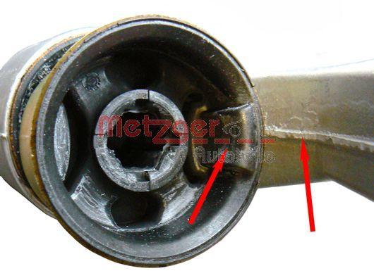 52004508 Querlenkerbuchse METZGER - Markenprodukte billig