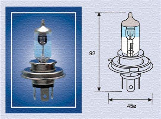 002585100000 MAGNETI MARELLI Glühlampe, Fernscheinwerfer für RENAULT TRUCKS online bestellen