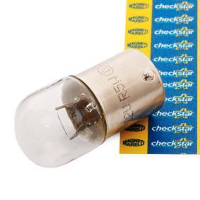 izzó, rendszámtábla világítás MAGNETI MARELLI 004007100000 - vásároljon és cserélje ki!