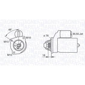 Tensione: 12V Potenza motore avviamento: 2,2kW N/° denti 10 HELLA 8EA 011 610-321 Motorino davviamento