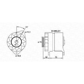 Generator MAGNETI MARELLI 063321023010 14V, 65A — Jetzt