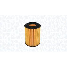 154085040450 MAGNETI MARELLI Filtereinsatz Ø: 83mm, Höhe: 104mm Ölfilter 152071758808 günstig kaufen