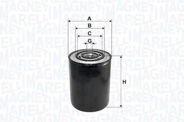 Original OPEL Oil filter 153071760101