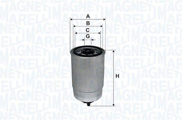 Original IVECO Dieselfilter 153071760102