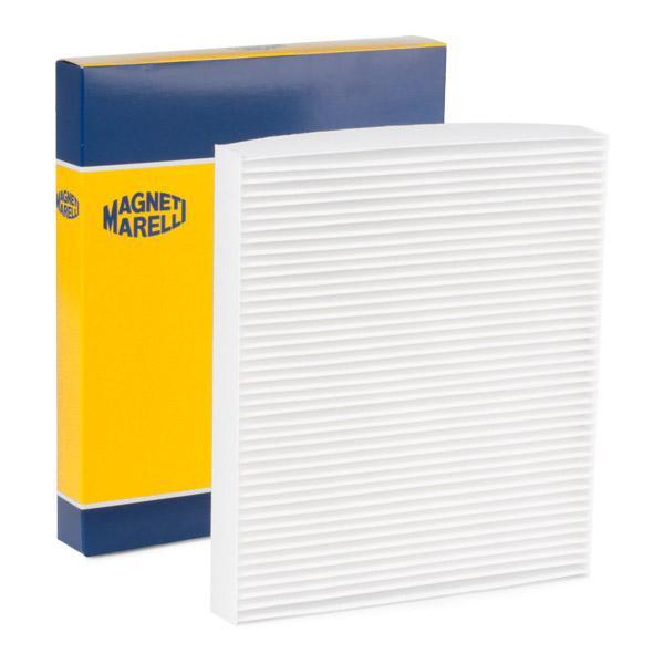 AUDI A2 2005 Pollenfilter - Original MAGNETI MARELLI 350203061450 Breite: 216mm, Höhe: 30mm, Länge: 246mm