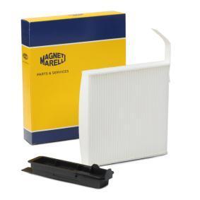 LA230 MAGNETI MARELLI Partikelfilter Breite: 182mm, Höhe: 25mm, Länge: 184mm Filter, Innenraumluft 350203062090 günstig kaufen