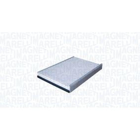 LA387 MAGNETI MARELLI Partikelfilter Breite: 195mm, Höhe: 30mm, Länge: 274mm Filter, Innenraumluft 350203062800 günstig kaufen