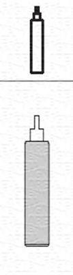 Купете 1445G MAGNETI MARELLI предна ос, газов, носещ пружина амортисьор, отгоре щифт, ухо отдолу Амортисьор 351445070000 евтино