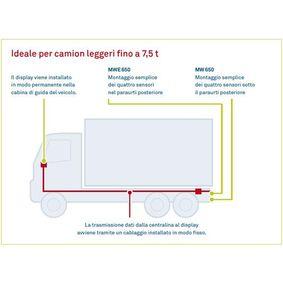 Parkeringshjälp system MWE-650-4DSM från WAECO