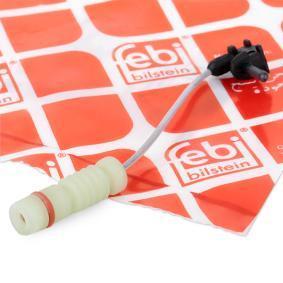 Compre e substitua Contacto avisador, desgaste da pastilha de travão FEBI BILSTEIN 01498