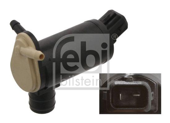 FEBI BILSTEIN: Original Waschwasserpumpe Scheibenreinigung 06084 (Anschlussanzahl: 2)