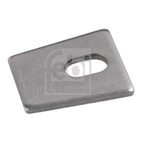 Compre e substitua Chapa de suporte, cavilha da maxila do travão FEBI BILSTEIN 06456