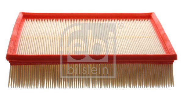 AUDI A6 2014 Luftfiltereinsatz - Original FEBI BILSTEIN 11210 Länge: 254mm, Länge: 254mm, Breite: 212,0mm, Höhe: 55mm