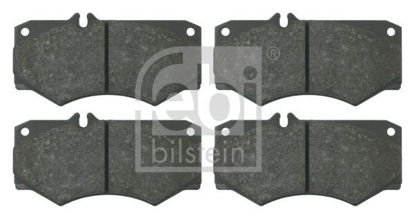 MERCEDES-BENZ T1 1996 Bremsklötze - Original FEBI BILSTEIN 16033 Breite: 75,0mm, Dicke/Stärke 1: 18mm