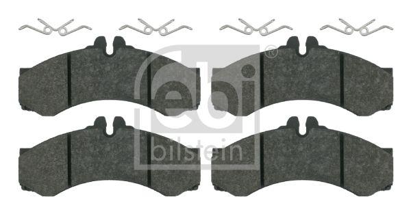 FEBI BILSTEIN Kit de plaquettes de frein, frein à disque 16164