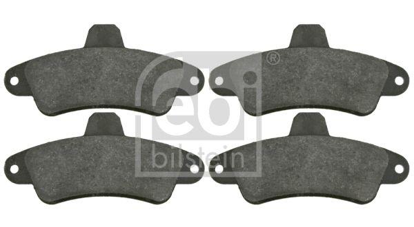 Bremsbelagsatz Ford Mondeo MK1 Kombi hinten + vorne 1993 - FEBI BILSTEIN 16393 (Breite: 53,7mm, Dicke/Stärke 1: 15mm)