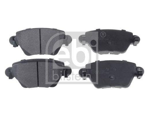 Bremsbelagsatz Ford Mondeo mk2 hinten + vorne 1999 - FEBI BILSTEIN 16426 (Breite: 51,9mm, Dicke/Stärke 1: 16,2mm)