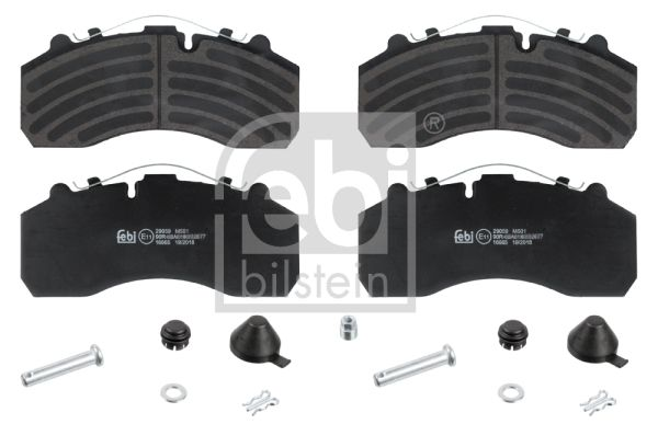 16665 FEBI BILSTEIN Brake Pad Set, disc brake for IVECO Stralis - buy now