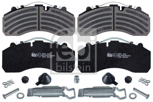 16666 FEBI BILSTEIN Brake Pad Set, disc brake for IVECO S-WAY - buy now