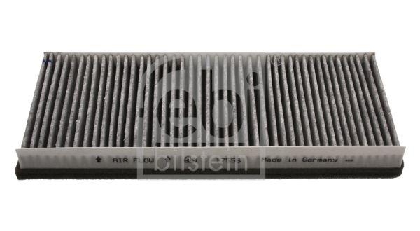 Купете 17556 FEBI BILSTEIN филтър с активен въглен ширина: 149,0мм, височина: 30мм, дължина: 345мм Филтър, въздух за вътрешно пространство 17556 евтино