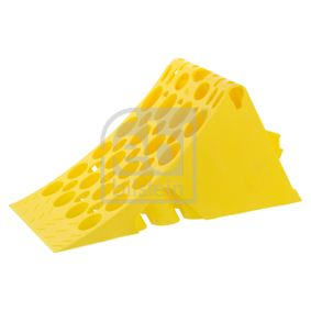 Achat de FEBI BILSTEIN jaune, Matière plastique Épaisseur: 230,0mm, Longueur: 470mm, Largeur: 200,0mm Cale de roue 17774 pas chères