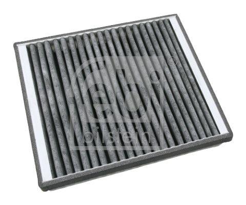 21643 FEBI BILSTEIN Aktivkohlefilter Breite: 204,0mm, Höhe: 40mm, Länge: 234mm Filter, Innenraumluft 21643 günstig kaufen