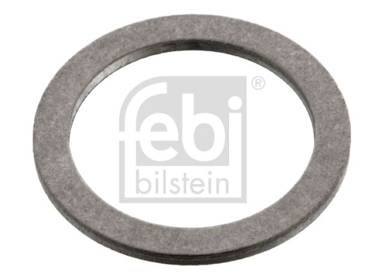 FORD FOCUS 2016 Dichtung Ölablaßschraube - Original FEBI BILSTEIN 22149 Ø: 24,0mm, Innendurchmesser: 18,0mm