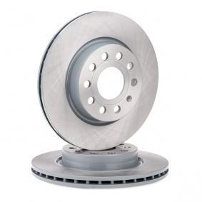 22904 FEBI BILSTEIN Eje delantero, Ventilación interna, revestido Ø: 280,0mm, Espesor disco freno: 22mm Disco de freno 22904 a buen precio