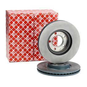 22921 FEBI BILSTEIN Eje delantero, Ventilación interna, revestido Ø: 283,0mm, Espesor disco freno: 26mm Disco de freno 22921 a buen precio