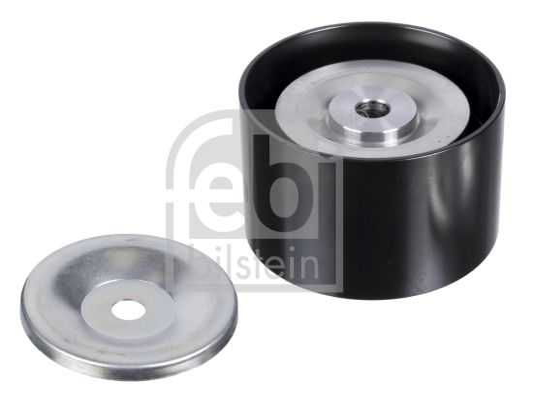 Buy FEBI BILSTEIN Deflection / Guide Pulley, v-ribbed belt 22989 truck