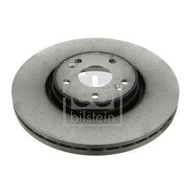 23333 FEBI BILSTEIN Vorderachse, Innenbelüftet, beschichtet Ø: 300,0mm, Bremsscheibendicke: 26mm Bremsscheibe 23333 günstig kaufen