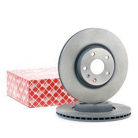 24384 FEBI BILSTEIN Eje delantero, Ventilación interna, revestido Ø: 312,0mm, Espesor disco freno: 25mm Disco de freno 24384 a buen precio