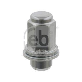 26586 FEBI BILSTEIN M12 x 1,5mm, 21 Hjulmutter 26586 köp lågt pris