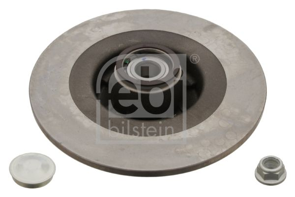 28155 FEBI BILSTEIN Hinterachse, Voll, geölt, mit ABS-Sensorring, mit Radlager, mit Schutzkappe/Faltenbalg Ø: 270,0mm, Bremsscheibendicke: 10mm Bremsscheibe 28155 günstig kaufen