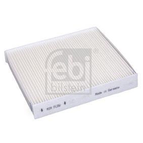 29467 FEBI BILSTEIN Kupéluftsfilter B: 210,0mm, H: 35mm, L: 235mm Filter, kupéventilation 29467 köp lågt pris