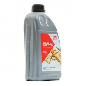 Pirkti VW5010150500 FEBI BILSTEIN 15W-40, 1l, Mineralinė alyva Variklio alyva 32925 nebrangu
