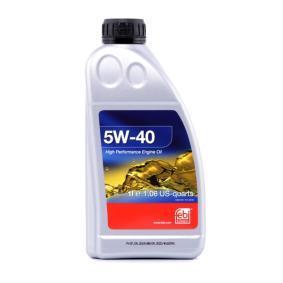 VW50500 FEBI BILSTEIN 5W-40, 1l, Óleo sintético Óleo do motor 32936 comprar económica