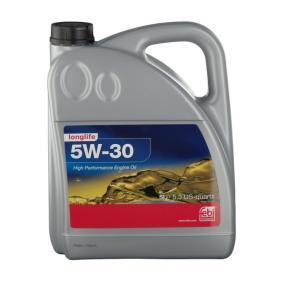 Pirkti VW50501 FEBI BILSTEIN 5W-30, 5l Variklio alyva 32943 nebrangu