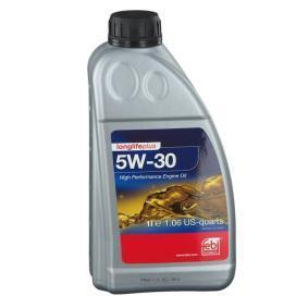VW50700 FEBI BILSTEIN Longlife Plus 5W-30, 1l Óleo do motor 32945 comprar económica