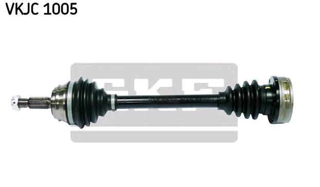 VW CADDY 2014 Halbachse - Original SKF VKJC 1005 Länge: 540mm, Außenverz.Radseite: 22