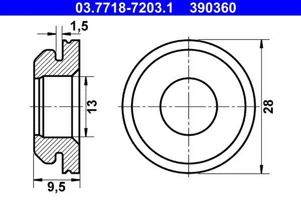 køb Bremseforstærker 03.7718-7203.1 når som helst