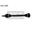 Antriebswelle VKJC 1058 — aktuelle Top OE 33 20 1 229 141 Ersatzteile-Angebote