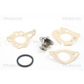 8620 2182 TRISCAN Öffnungstemperatur: 82°C, separates Gehäuse Thermostat, Kühlmittel 8620 2182 günstig kaufen