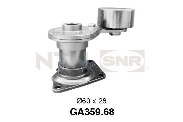 GA359.68 SNR Spannrolle, Keilrippenriemen GA359.68 günstig kaufen