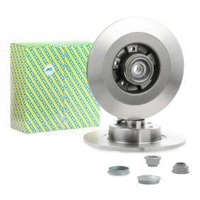 KF155.83U SNR mit integriertem Radlager, mit integriertem magnetischen Sensorring Lochanzahl: 5 Bremsscheibe KF155.83U günstig kaufen