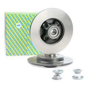Comprare KF159.62U SNR rivestito, con cuscinetto ruota integrato, con anello sensore magnetico integrato N° fori: 4 Disco freno KF159.62U poco costoso