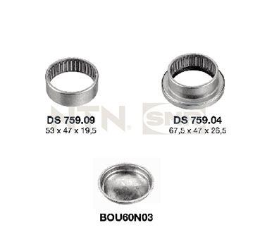 Acheter Suspension support d'essieu SNR KS559.02 à tout moment